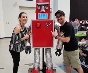 FULLY FUNCTIONAL RETRO ROBOT