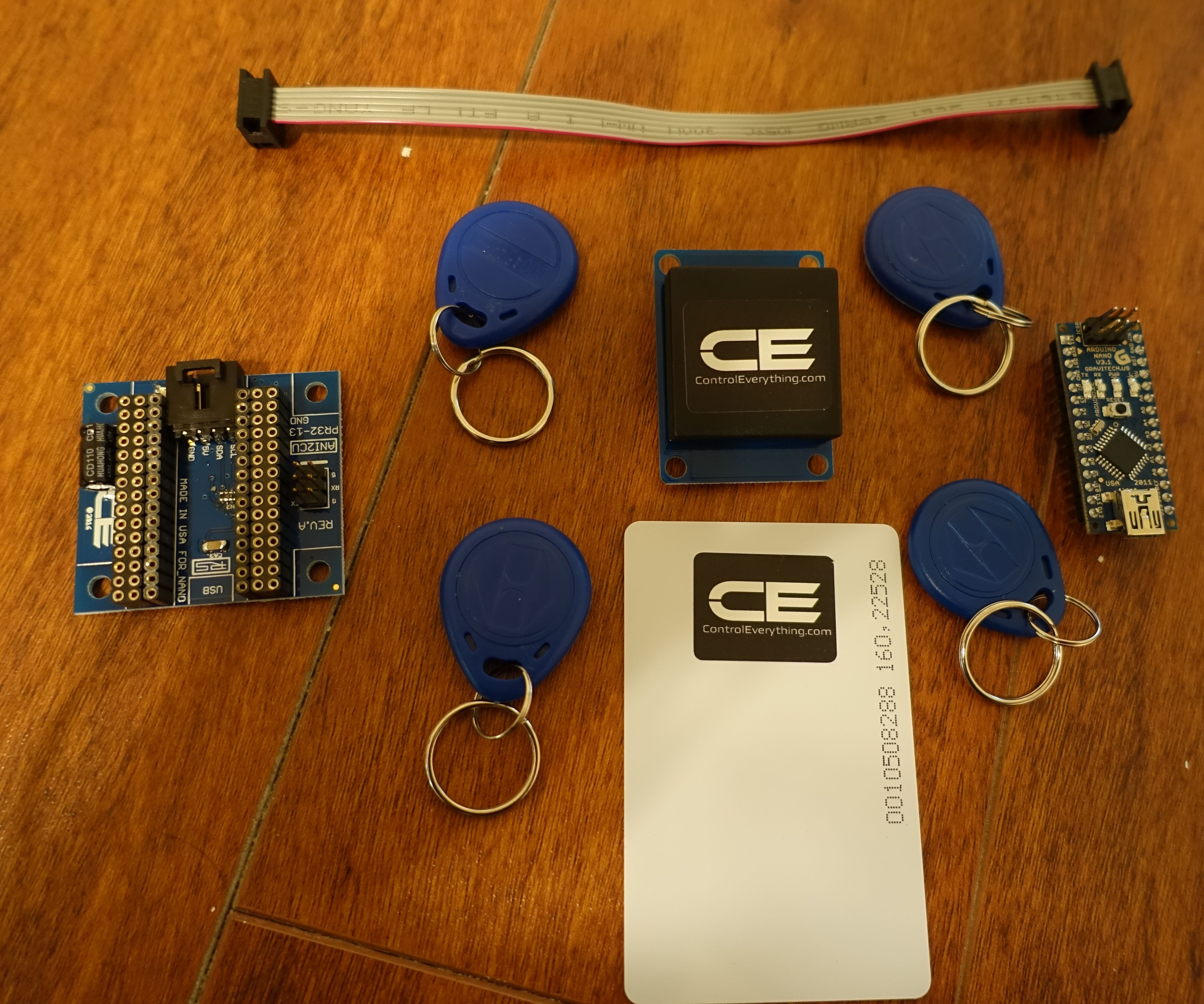 Interface RFID Shield With Arduino