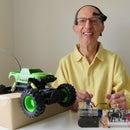 Brainwaves and Eye-blinks Drive a Truck