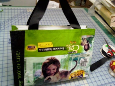 The Finished Bag Front.