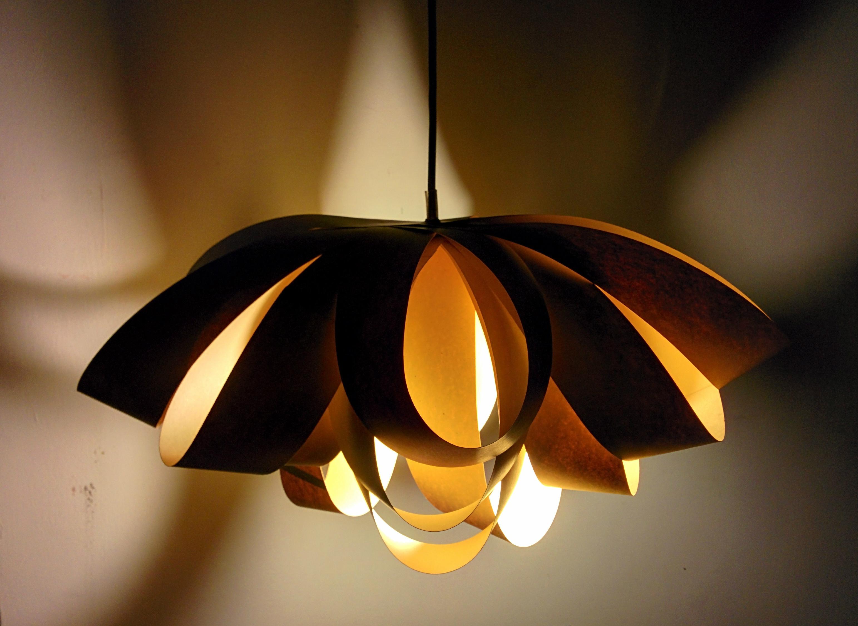 Giant Decorative Bow Paper Pendant Lamp
