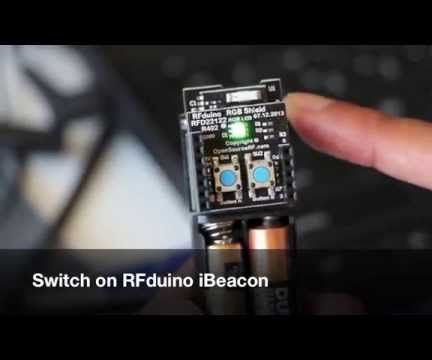 RFduino iBeacon Welcome Home