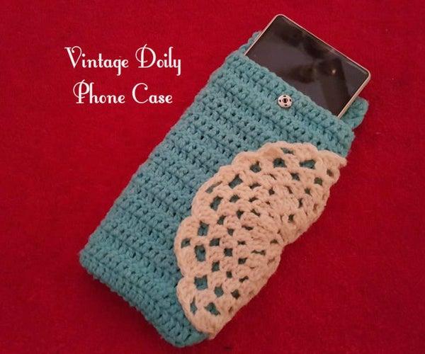 Crochet Vintage Doily Phone Case