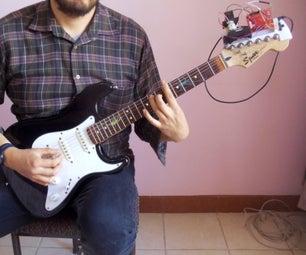 Detachable Guitar Auto Tuner