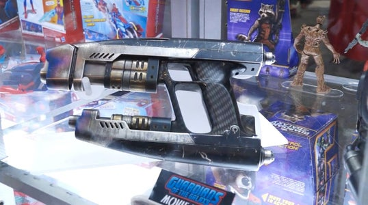Turning a Nerf Gun Into a Star Lord Blaster