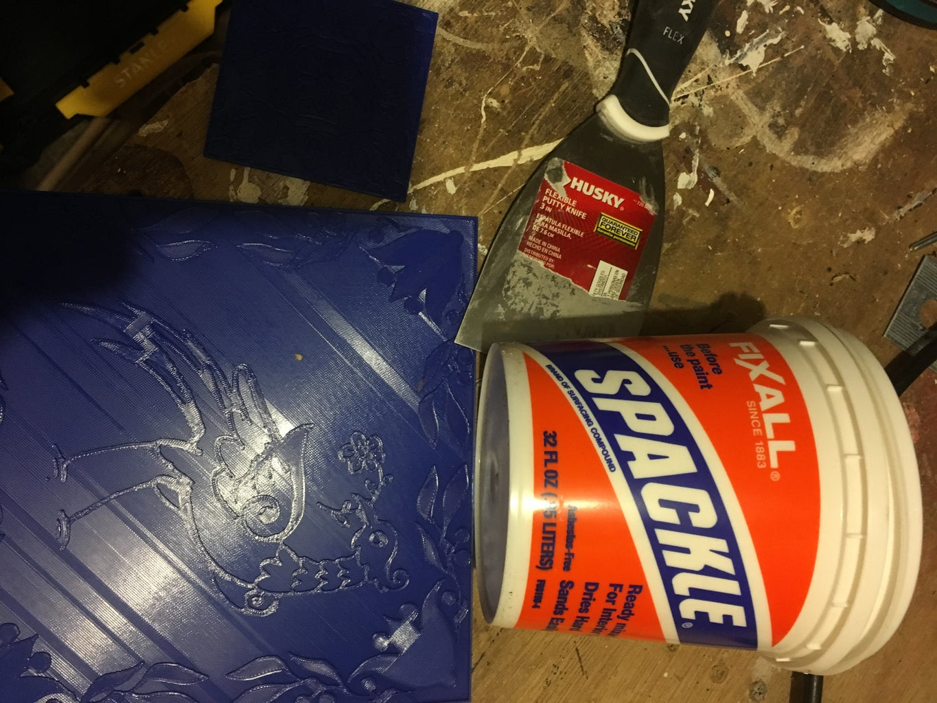 Spackle Up Your Tile