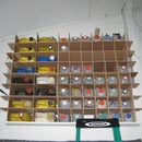 Workshop Storage Organizer From Old Canisters