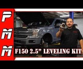 "F150 2.5"" Leveling Kit Install"