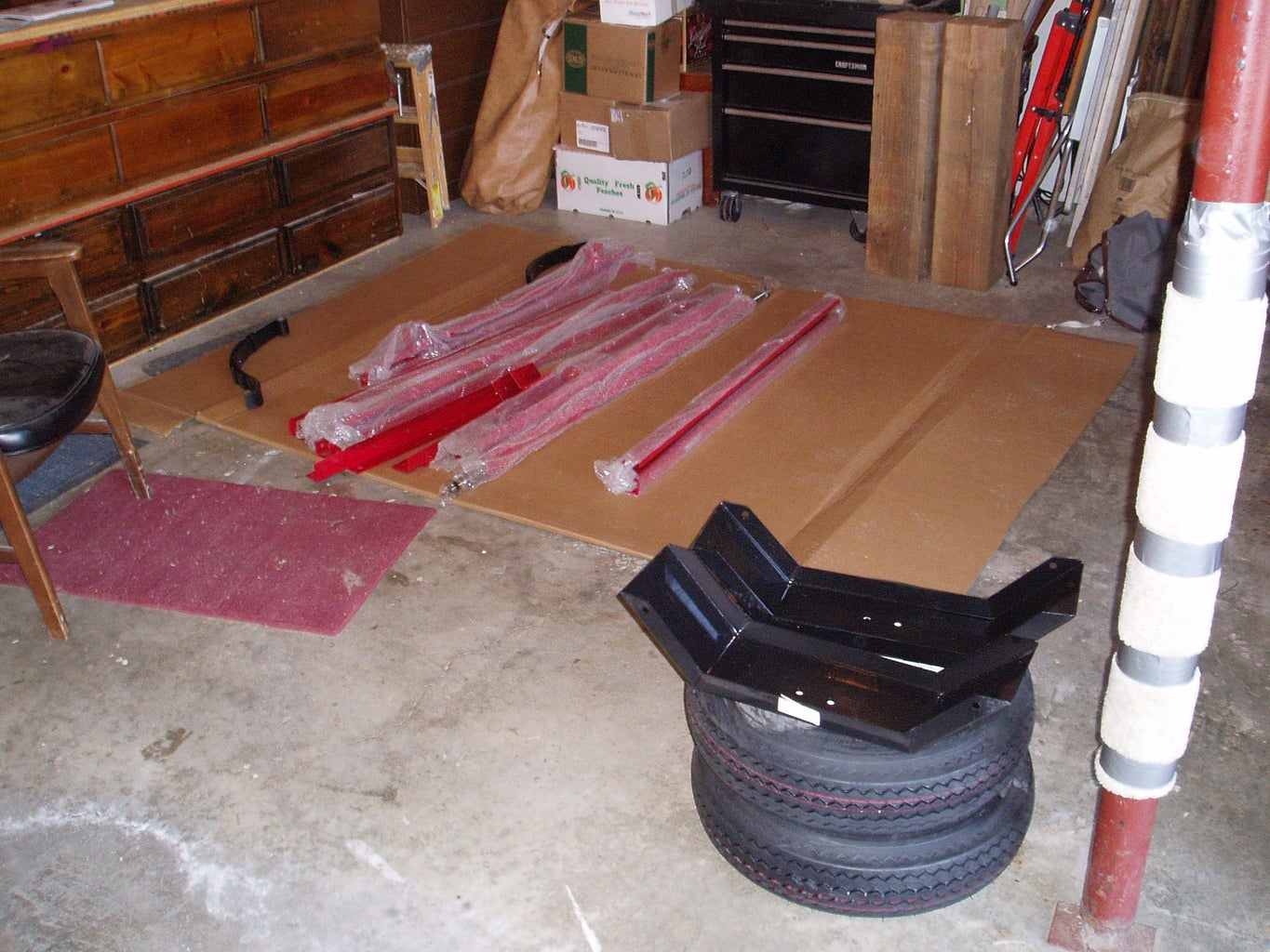 Buying the Utility Trailer - Piecing It Together.