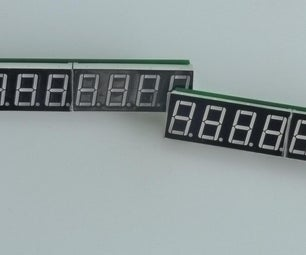 .56inch LEDs Display With MAX7219