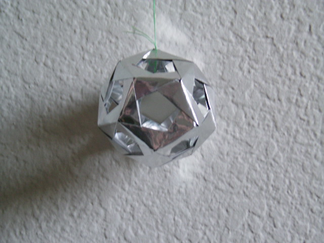 Dodecahedron Modular Origami