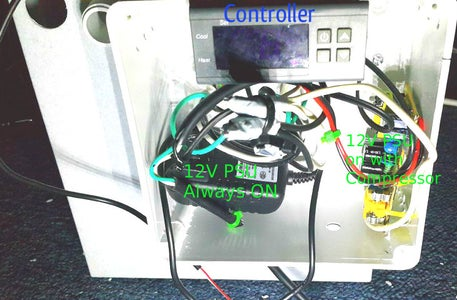 Wiring the Controls.