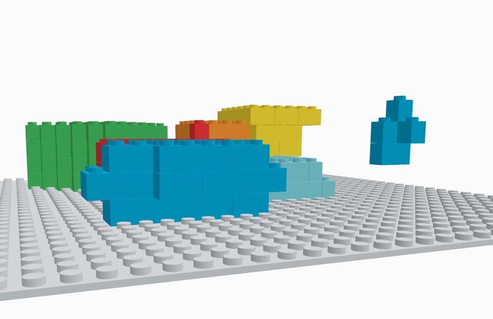 Adjusting Your Design - Tip 3: Avoid Floating Bricks