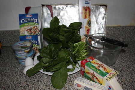 Easy Spanakopita - Spinach Pie