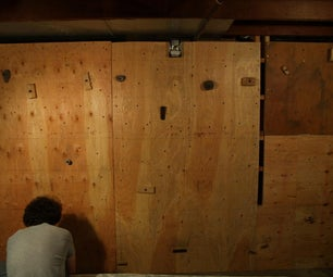 Give Yourself a Woody (Build a Home Climbing Wall)