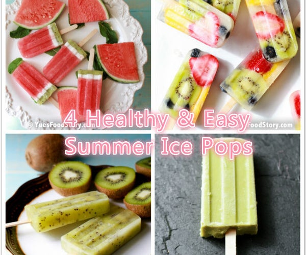 4 Healthy & Easy Summer Ice Pops