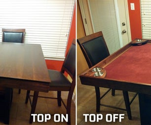 DIY Game Table Conversion