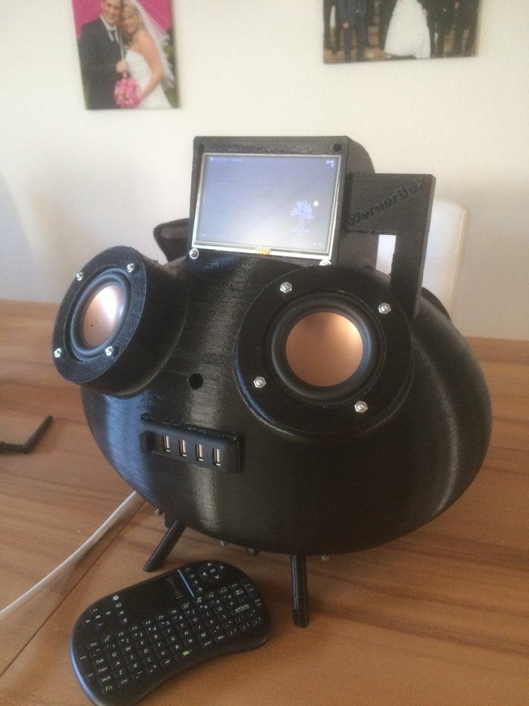 Raspberry Kodi Streaming Speaker