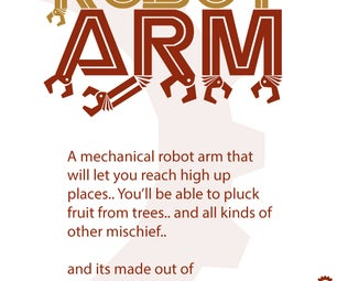 Carboard Mechanical Robot Hand