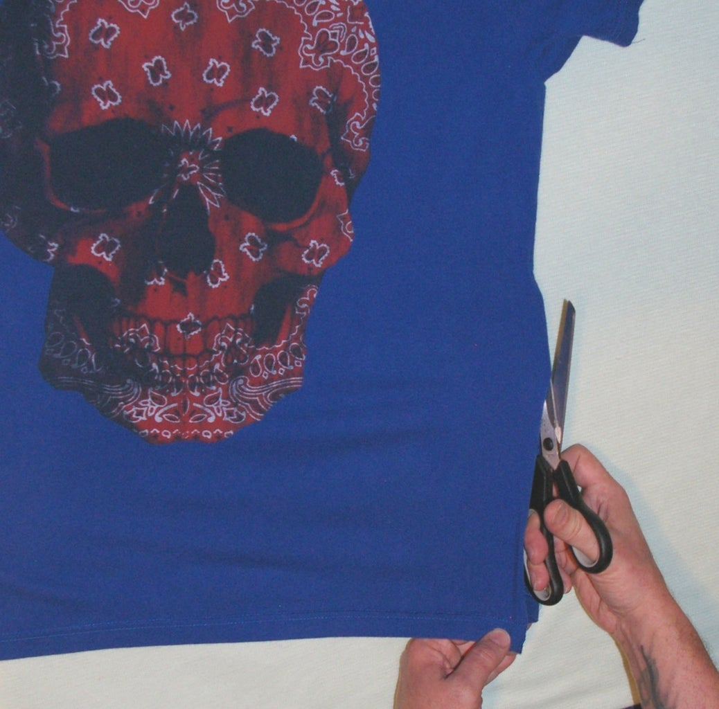 Prepping the T-Shirt
