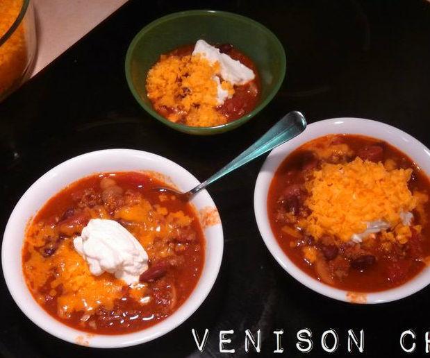 Venison Chili in Under 30 Minutes!