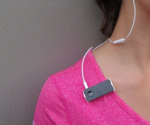 3D Printed Bluetooth Headphone Receiver