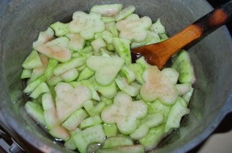 Preparation - Add Melon Pieces