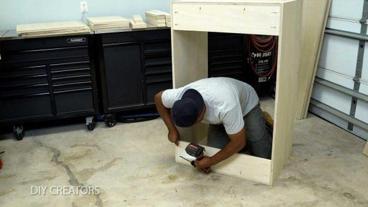 Build the Upper Cabinets