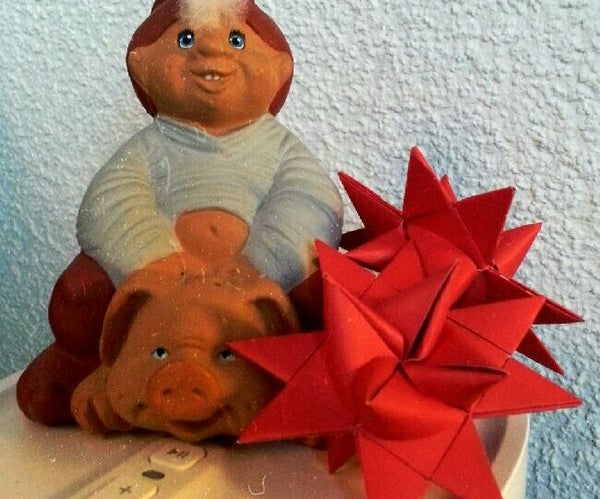 Beautiful Danish Christmas Stars in 3D