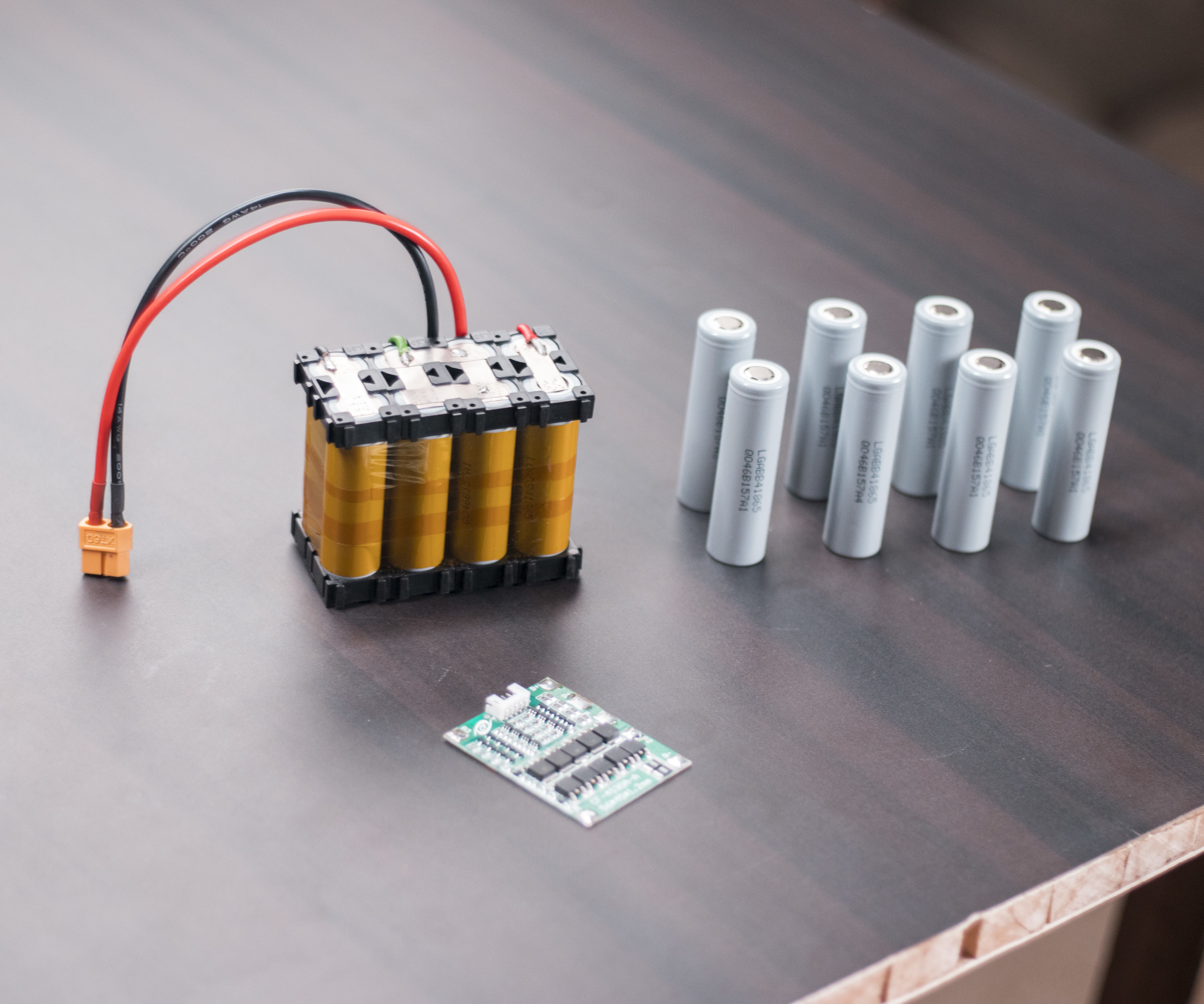 Make Your Own 4S Lithium Battery Pack