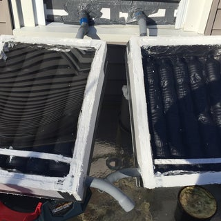 Complete Steps for Building a Solar Thermal Soda/Beer Can Heater for a Greenhouse