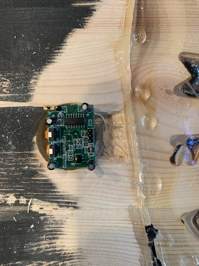 Mounting the Camera and Motion Sensor