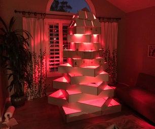Upcycled Christmas Tree 2018