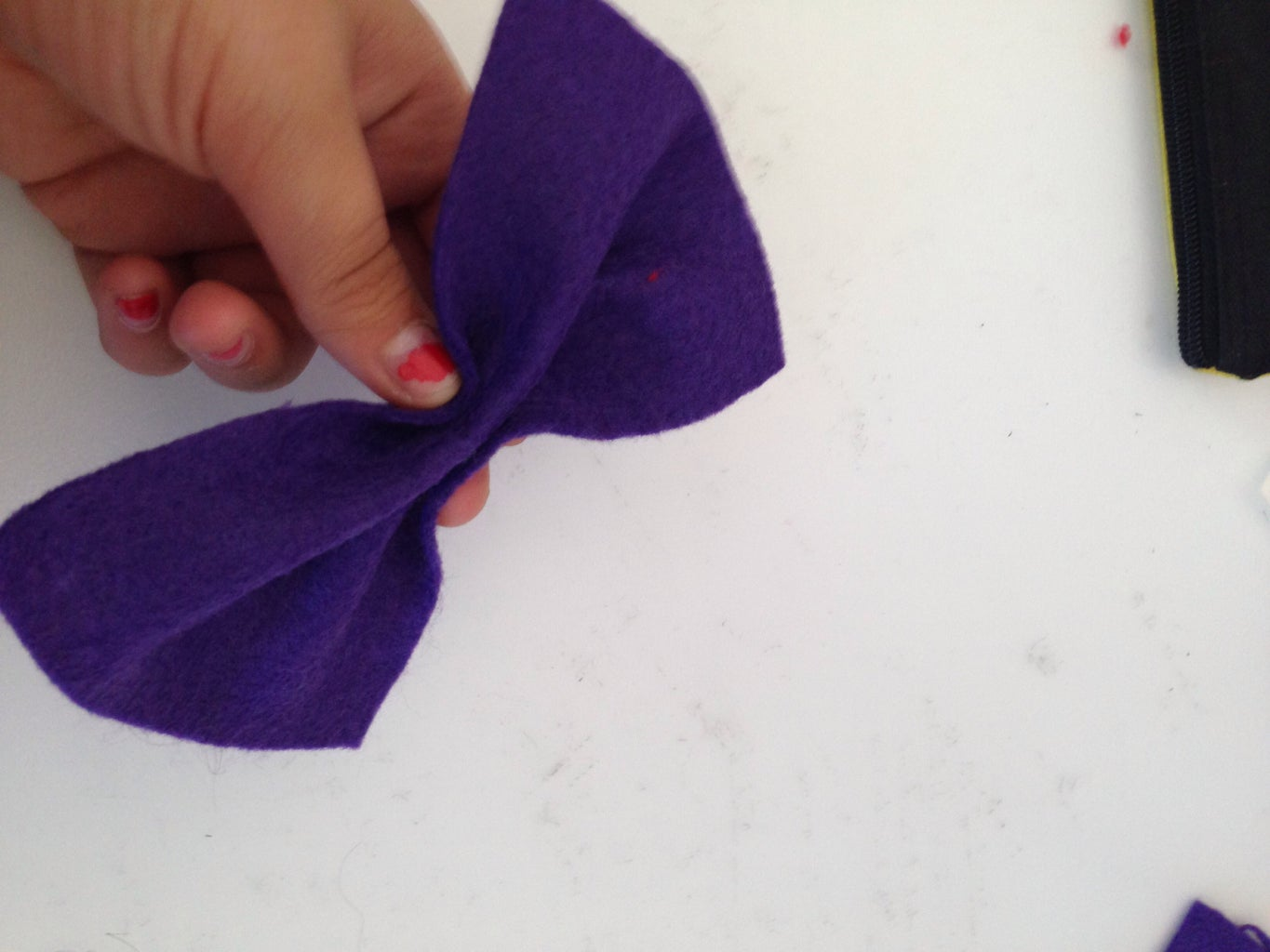 Start Making the Bow