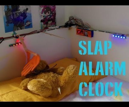 Slap Alarm Clock