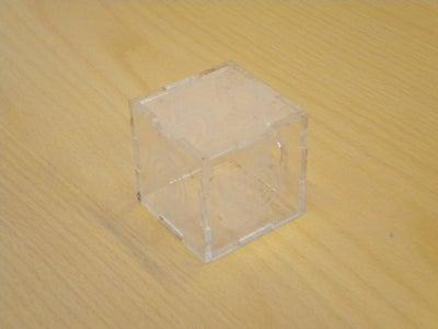Cubo De Metacrilato