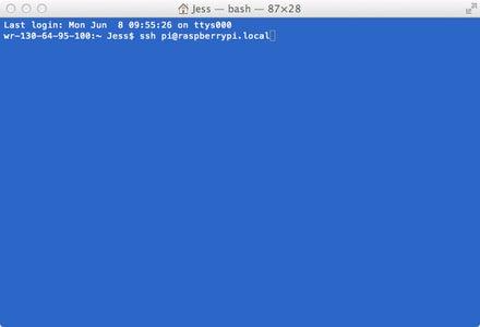 Step 1: Setup Your Pi + Access Via SSH-continuation