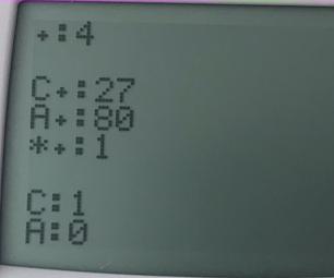 Simple Clicker Game for TI83 Family of Calculators