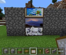 Secret Door in Minecraft Pe