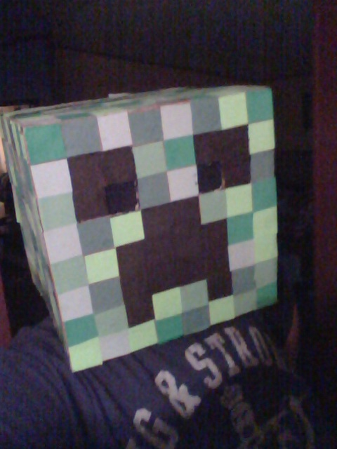 Duct Tape Minecraft Creeper