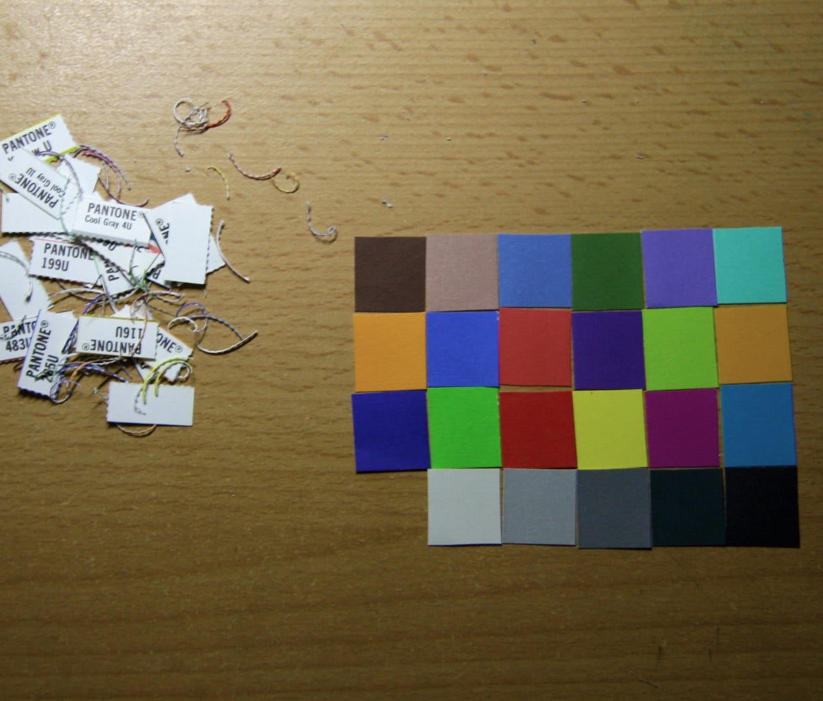 Trim the Swatches