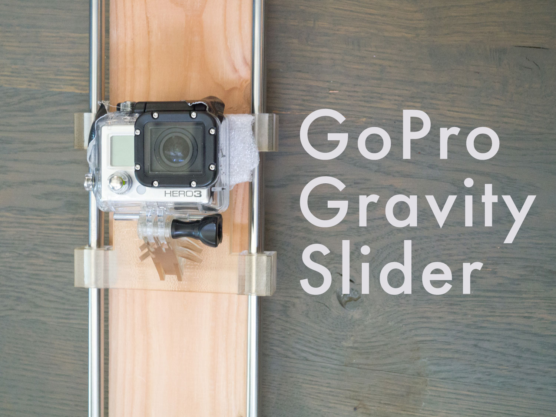 GoPro Gravity Slider