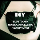 DIY Noise Cancelling Bluetooth Headphones