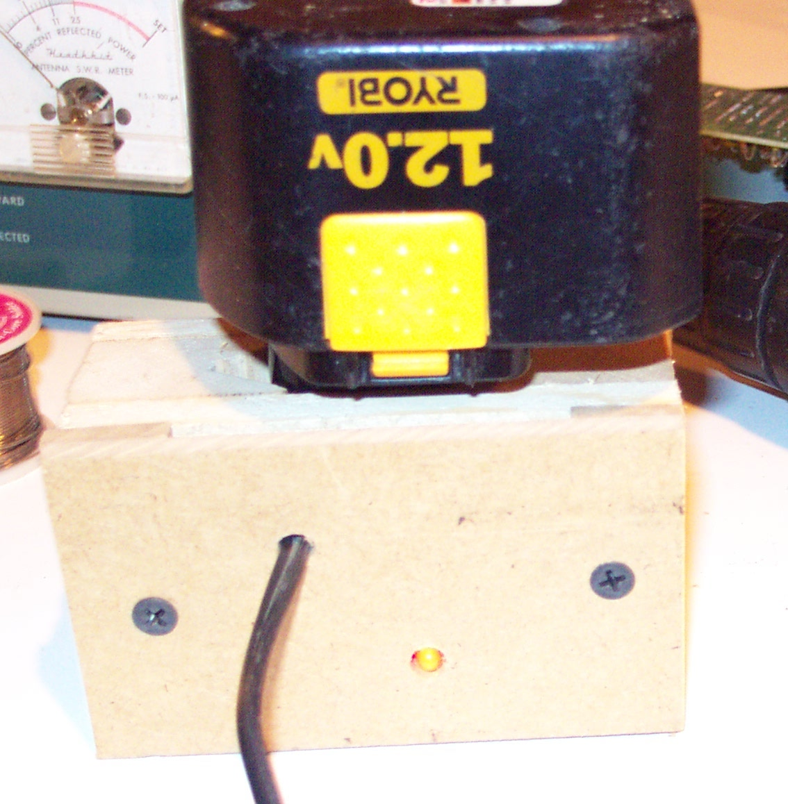 Homemade Cordless Drill Battery Charger