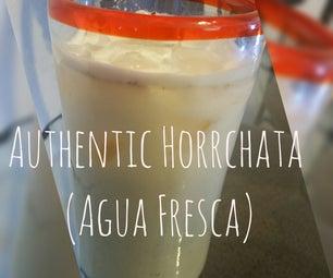 Authentic Horrchata