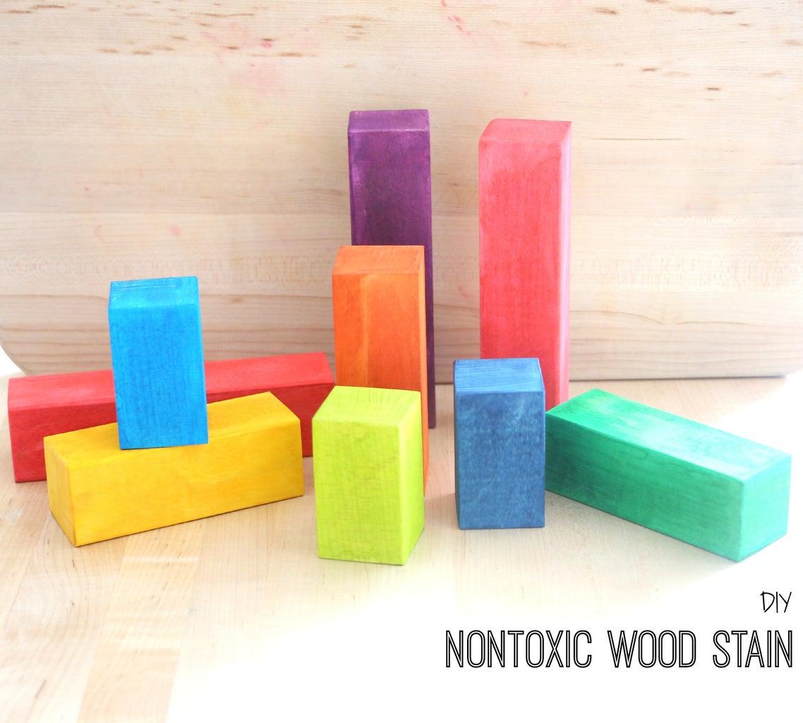 DIY Nontoxic Wood Stain