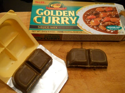 Adding the Curry Roux