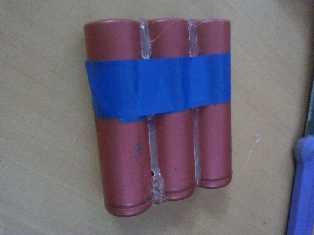 Making the Li-ion Battery Pack(3P Configuration):
