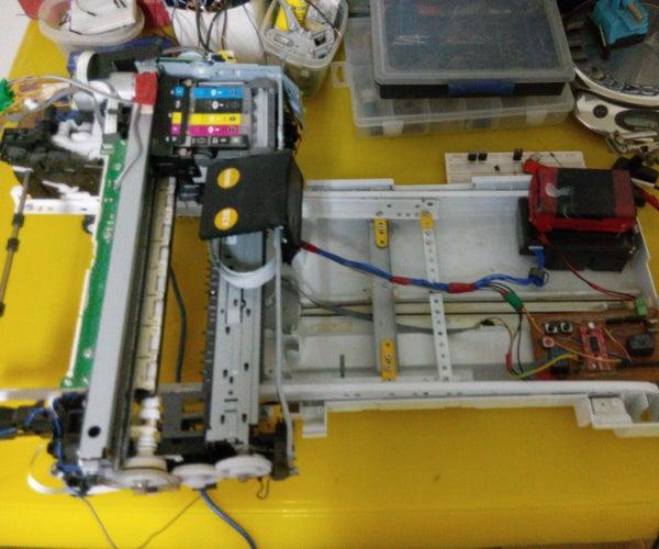 How to Turn Inkjet Printer to Print on Coffee