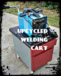 Upcycled Welding Cart